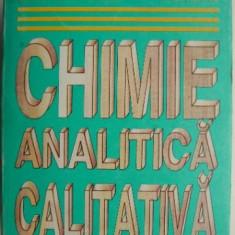 Chimie analitica calitativa – Gh. Radulescu, Maria Ioana Moise, I. Ceteanu