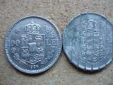 ROMANIA - SET 100 LEI 1936 + 100 LEI 1938 CANCELED , Ni, CAROL II , L7.4