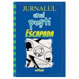 Carte Editura Arthur - Jurnalul unui pusti 12. Escapada