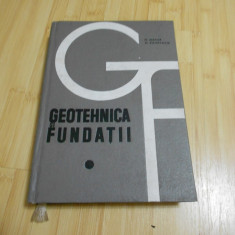 N. MAIOR--GEOTEHNICA SI FUNDATII - 1967