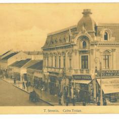 4679 - TURNU SEVERIN, street stores, Romania - old postcard - unused