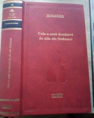 Marchizul de Sade / Cele 120 de zile ale Sodomei (Biblioteca Adevărul) foto