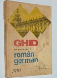 Ghid de conversatie roman german - 1971
