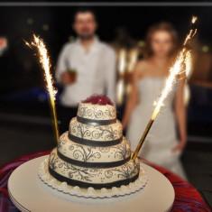 Pachet  10 seturi (40 bucati) Artificii / Fantani de tort 25 cm,durata 90 sec, Julimex