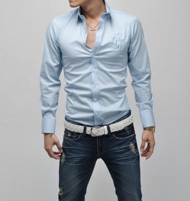 Camasa Barbati Slim Fit Casual Cambrata pt Evenimente C114 |PROMOTIE DE SEZON foto