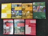 Manuale scolare Limba Franceza,Engleza. Carti vechi, dictionare., Clasa 8, Limba Engleza