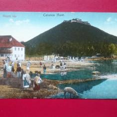 Cetatea Hust, Necirculata, Printata