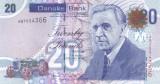 Bancnota Irlanda de Nord (Danske Bank) 20 Pounds 2016 - P213b UNC
