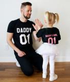 Tricou negru Daddy