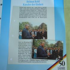 """3 Cartele Telefonice """"50 Jahre Deutschland"""" - Exponate NOI / 20"""