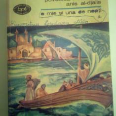 Bpt 453 1001 nopti vol 2, povestea frumoasei anis al-djalis