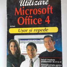 Utilizare microsoft office 4 , USOR SI REPEDE -ED BOTT - TEORA