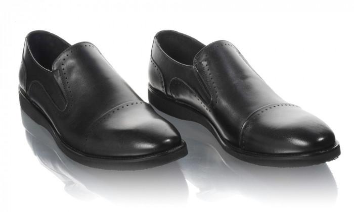 Pantofi barbati din piele naturala Komcero Kom-5024-143-N