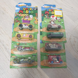 Set 8 masinute hot wheels Super Mario