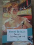 FEMEIA LA TREIZECI DE ANI - HONORE DE BALZAC, 2018