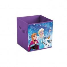 Cutie depozitare jucarii SunCity, model Frozen, 31x31x31