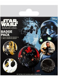 Insigna - Star Wars Rogue One Rebels - mai multe modele | GB Eye