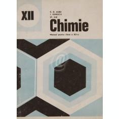 Chimie. Manual pentru clasa a XII-a