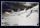 MUNTII RETEZATULUI - VARFUL PIETRELE 2250 METRI , CARTE POSTALA ILUSTRATA , MONOCROMA, CIRCULATA , DATATA PE VERSO 1939