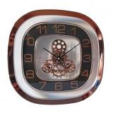 Cumpara ieftin Ceas de perete quartz design mecanic