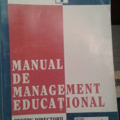 MANUAL DE MANAGEMENT EDUCATIONAL