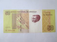 Angola 50 Kwanzas 2012 foto