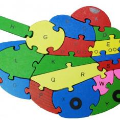 Puzzle Tanc lemn
