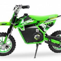 Mini Motocicleta electrica Eco Jackal 1000W Jackal 10 inch Verde