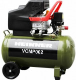 Cumpara ieftin Compresor de aer Heinner VCMP002, 50 L, 2 CP, 8 BAR