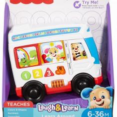Autobuzul Cu Sunete Limba Romana Fisher Price