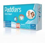 Scutece adulti Paddlers, Marimea M, Set 60 de bucati, Superabsorbante.