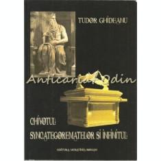 Chivotul Syncategorematelor Si Infinitul - Tudor Ghideanu