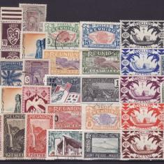 4564  - lot timbre Colonii franceze