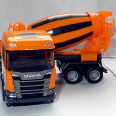 Herpa noua Scania Euro 6 CR ND betoniera 1:87