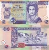 Belize 2 Dollars 01.01.2017 UNC