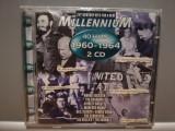 Millennium 4o Hits '60-'64 - Selectii - 2CD(1998/Emi/France)-CD ORIGINAL/Sigilat, emi records