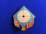 Insignă România - CTA - Concurs Tactic Aplicativ - Concurs tir locul 2