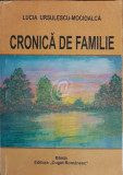 Cronica de familie (Ed. Cuget Romanesc)