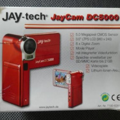 Camera video/mp3 digitala Jaytech JayCam DC5000 red LIvrare gratuita!, Card Memorie, CMOS, Sub 10x