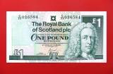 SCOTIA  -  1 Pound 2001  -  UNC