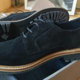 Pantofi piele intoarsa H&M 41 - 100% originali, gama premium - noi, la cutie