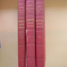 CONST. ZOTTA - COD DE PROCEDURA CIVILA ADNOTAT ( 3 volume 1932 - 1934 )