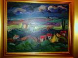 Peisaj rural noaptea- G N G Vinatoru