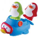 Jucarie de baie B Kids - Pinguini plutitori, Blue Box
