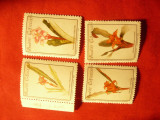 Serie Brazilia 1992 - Flora , 4 valori