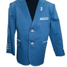 Sacou pentru baietei casual-elegant LA KIDS 1463-07A, Albastru