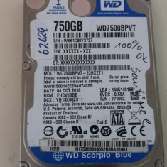 HDD Laptop Western Digital 750 GB Sata II #62629
