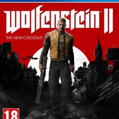 Joc consola Bethesda WOLFENSTEIN 2 THE NEW COLOSSUS PS4