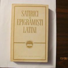 CY - Satirici si Epigramisti Latini