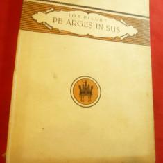 Ion Pillat - Pe Arges in sus -Prima Ed. 1923 Cultura Nationala ,cartonata 119pag